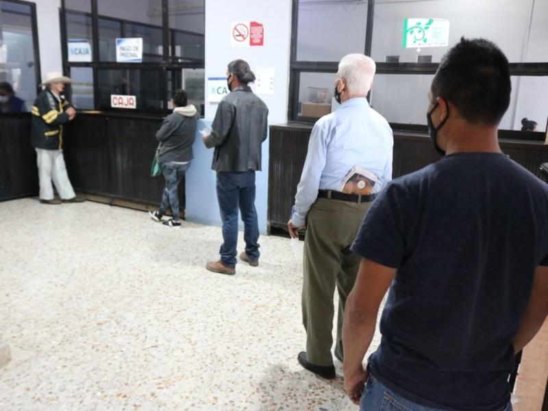 Vigilan protocolo en cajas de cobro en Álamo