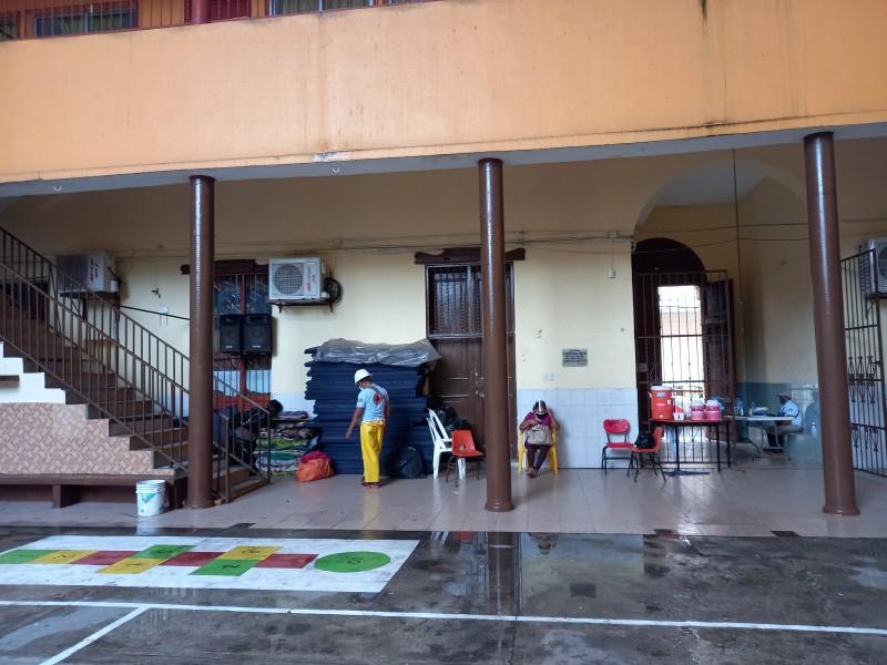 Vigilan refugios temporales en Veracruz