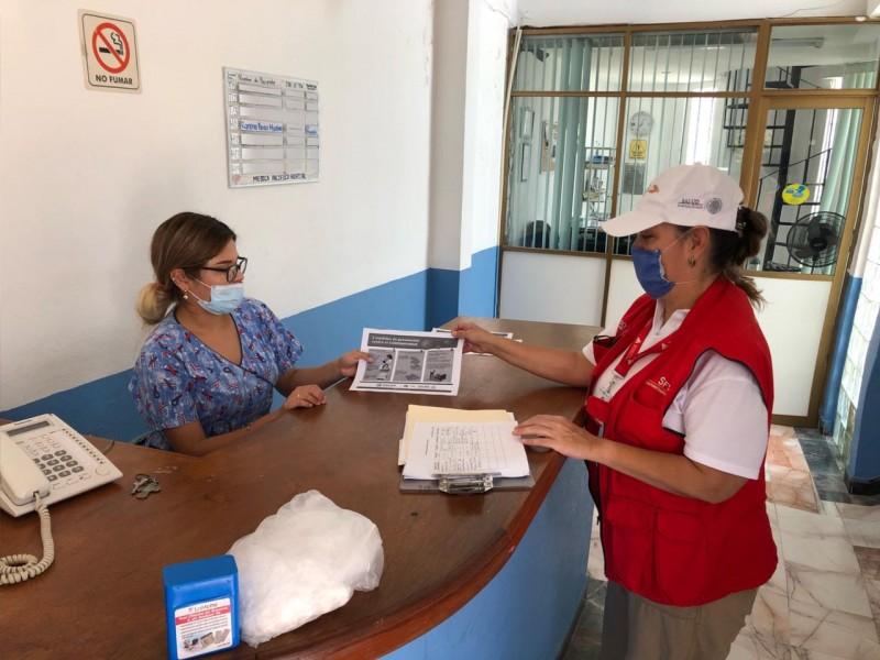 Vigilan sanidad de 400 establecimientos para protección del Covid-19