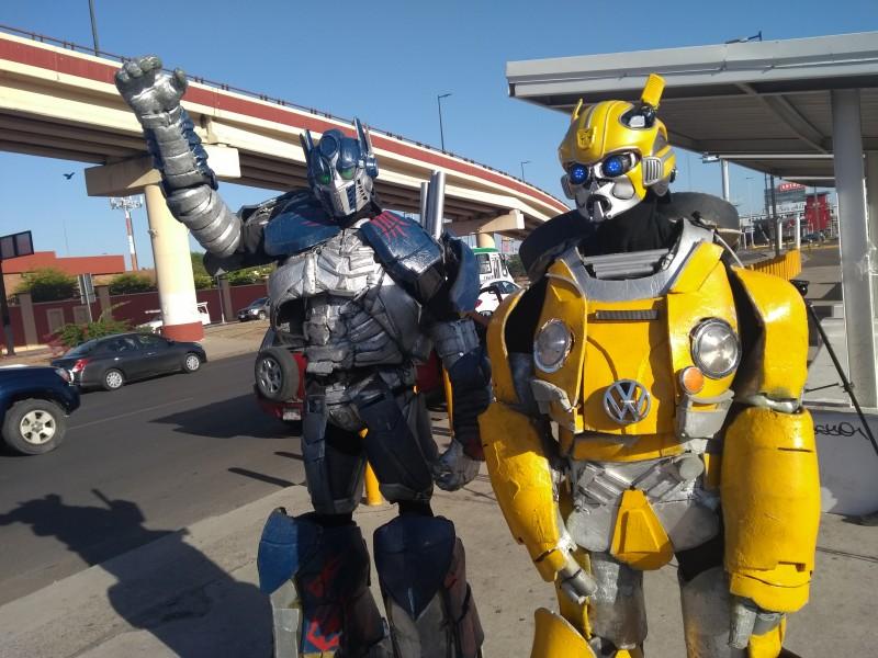 Viistan los Transformers a Hermosillo