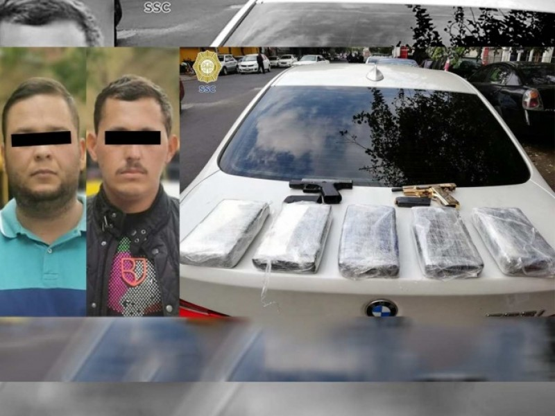 Vinculan a dos presuntos integrantes del cártel de Sinaloa