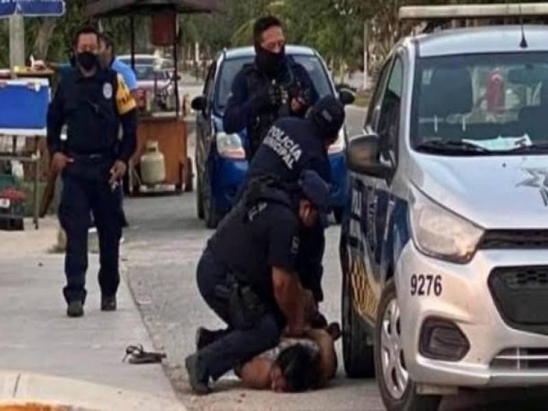 Vinculan a proceso a cuatro policías de Tulum por feminicidio