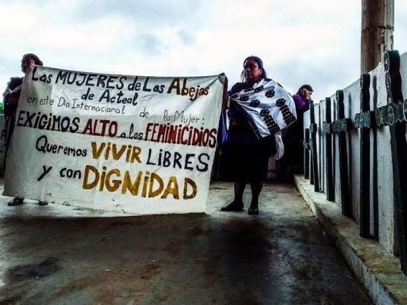 Violencia contra mujeres indígenas prevalece