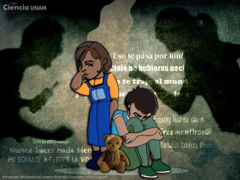 Violencia en infancia, abre la puerta para violencia en adultez