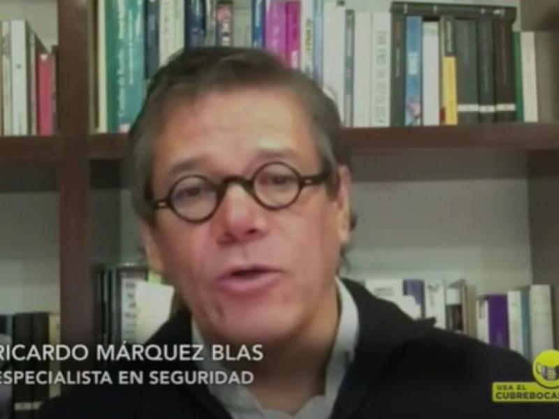 Violencia en México no va a la baja: Ricardo Márquez