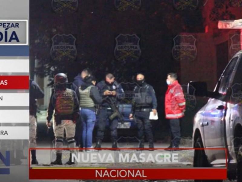 Violencia imparable; Tamaulipas, Zacatecas y Coahuila sufren homicidios y masacres