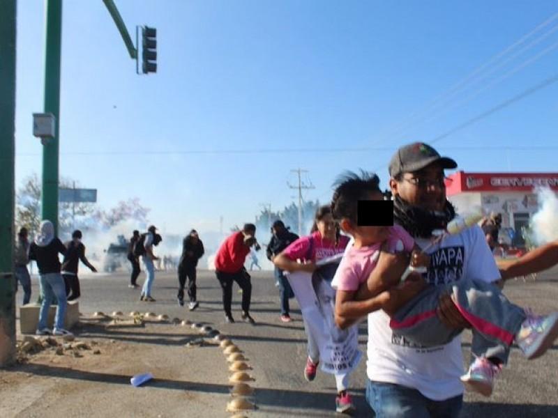 Violento desalojo en Chiapas