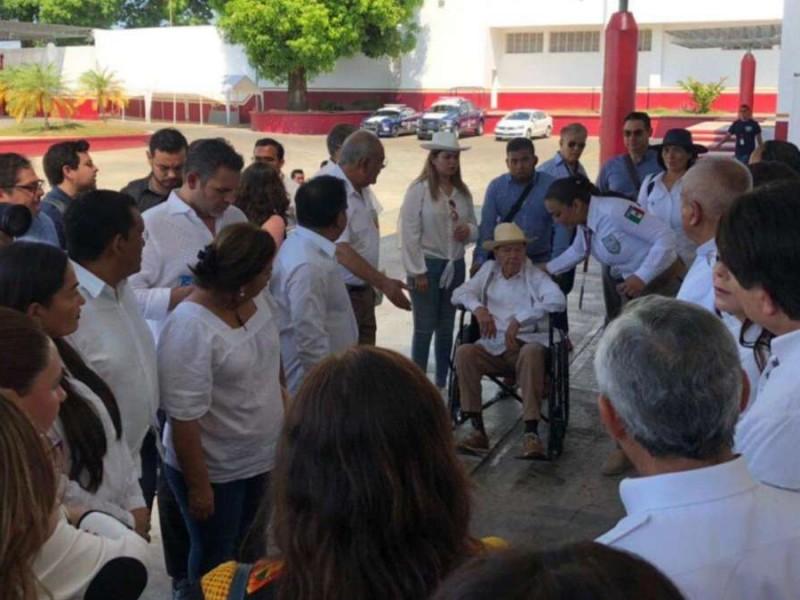 Visita a estación migratoria fue una burla: Porfirio Muñoz Ledo