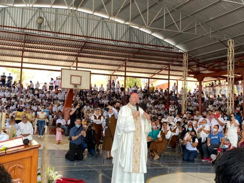 Visita de Franco Coppola, un llamado de Paz: Arquidiócesis