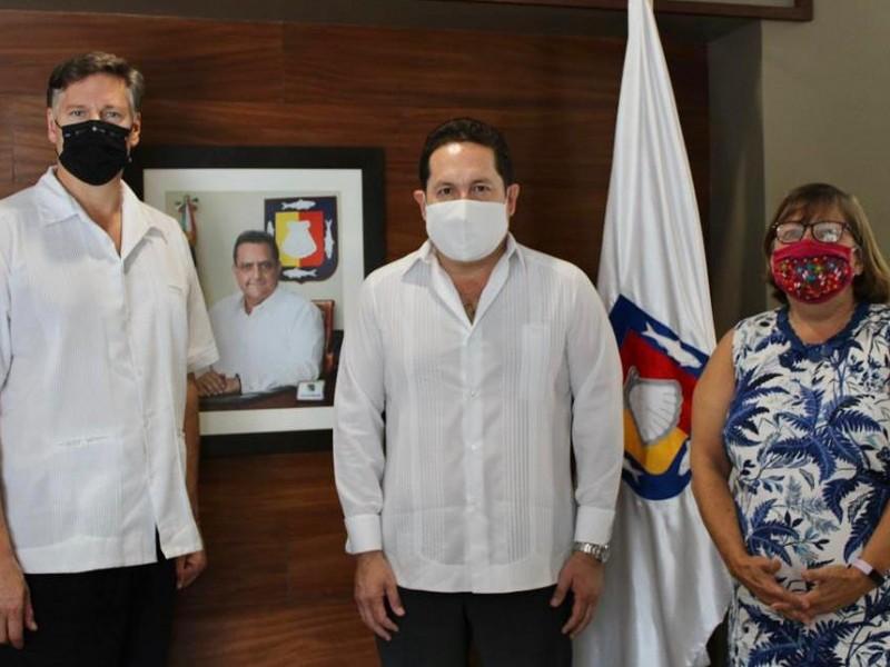 Visita Los Cabos, el Embajador Christopher Landau