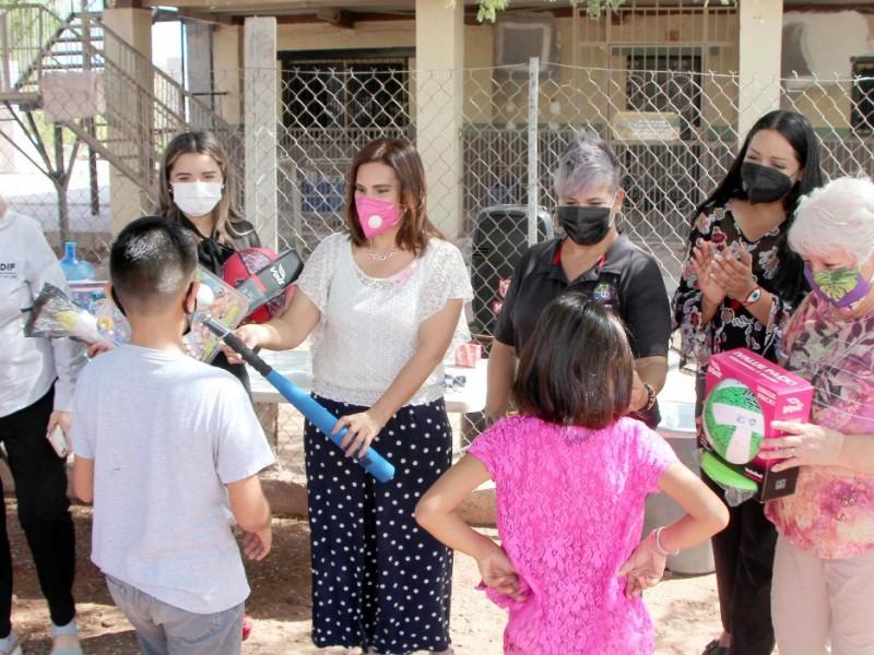 Visita Sara Valle Casa Hogar Hijos del Rey