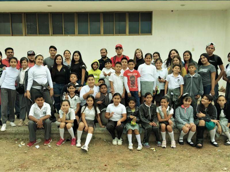 Visitan niños ITG, se integran a programa sustentable