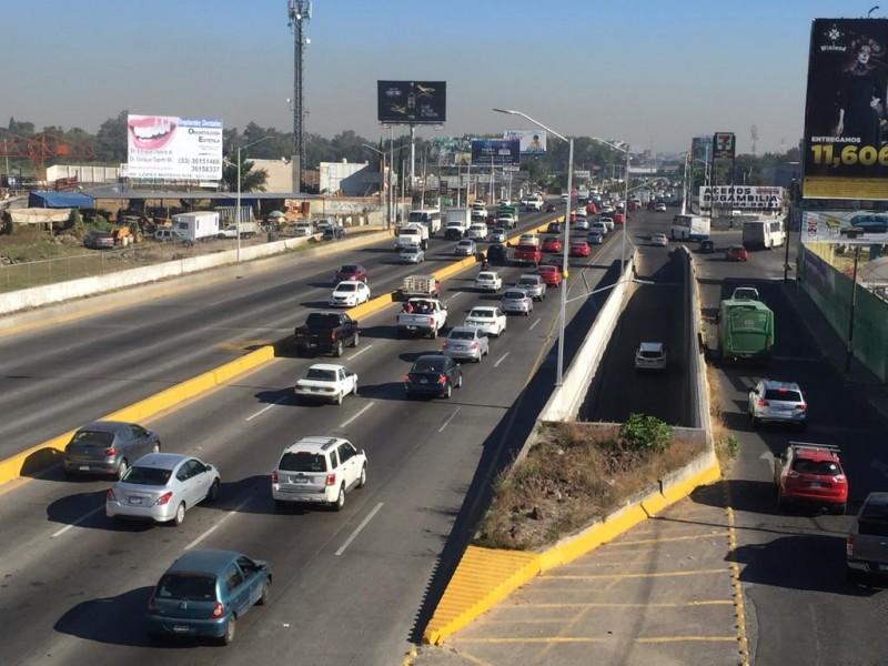 Vislumbran automovilistas caos por obras en López Mateos