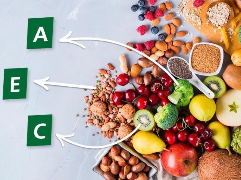 Vitaminas A, C y E refuerzos contra el COVID-19