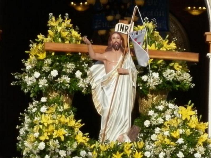 Vive la iglesia el domingo de resurrección