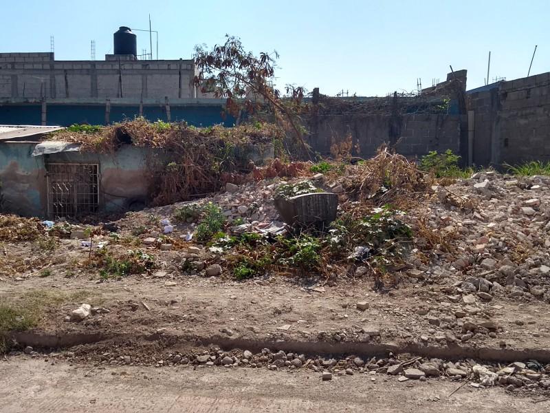 Viviendas abandonadas refugio de delincuentes