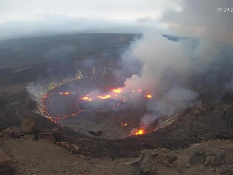Volcán Kilauea en Hawai entra en erupción