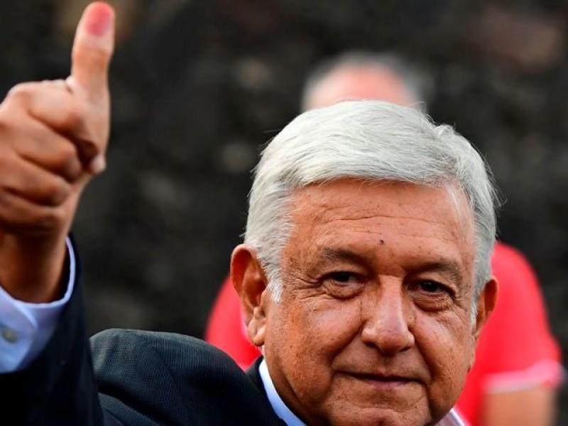 Vota Andrés Manuel López Obrador