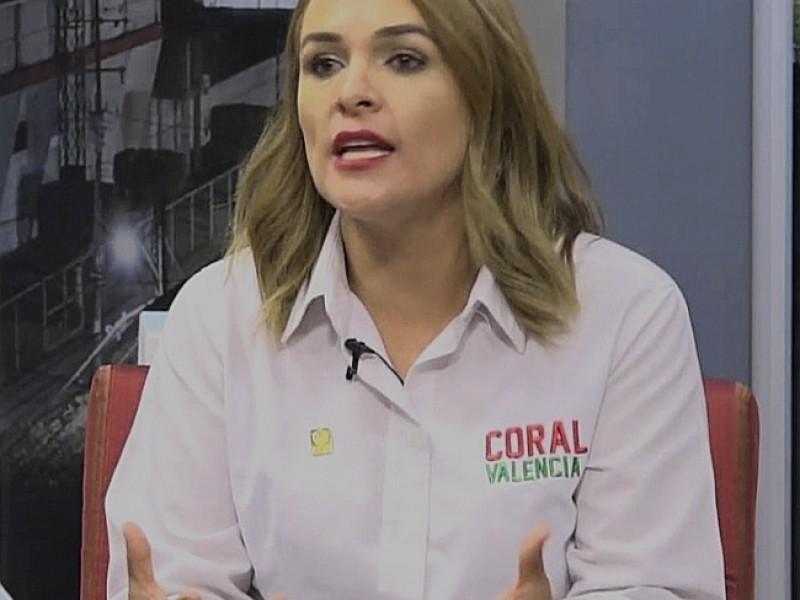 📹Voy por la alcaldía, no por una regiduria: Coral Valencia