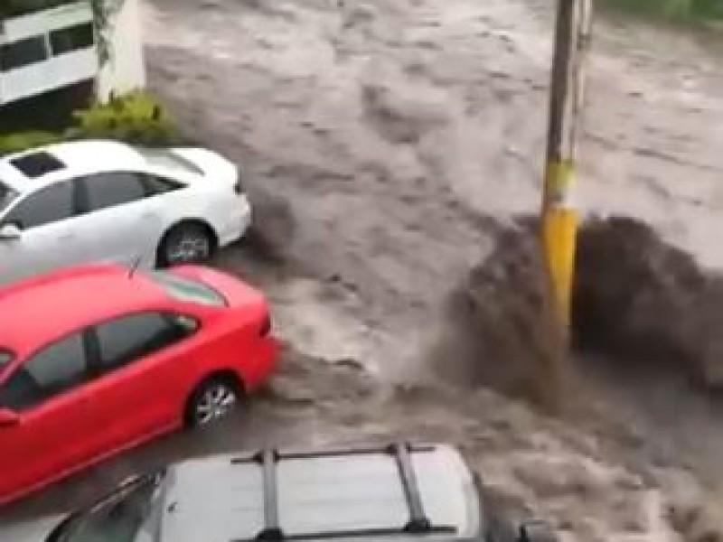 Vuelve a inundarse Bosques de Santa Anita