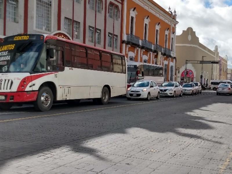 Nueva modificación en rutas del transporte público