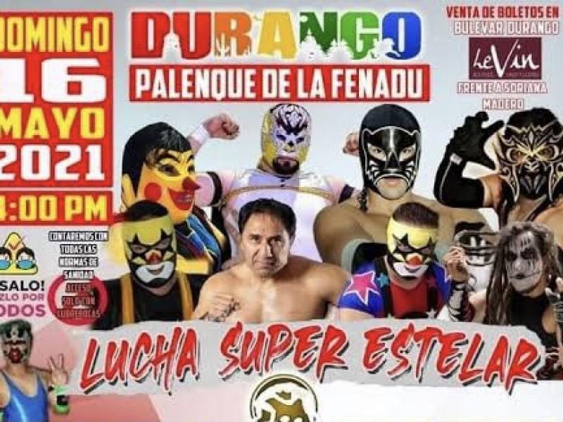 Vuelve la lucha libre a Durango