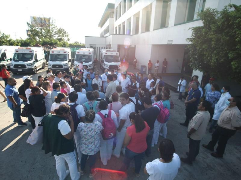Vuelven protestas en IMSS