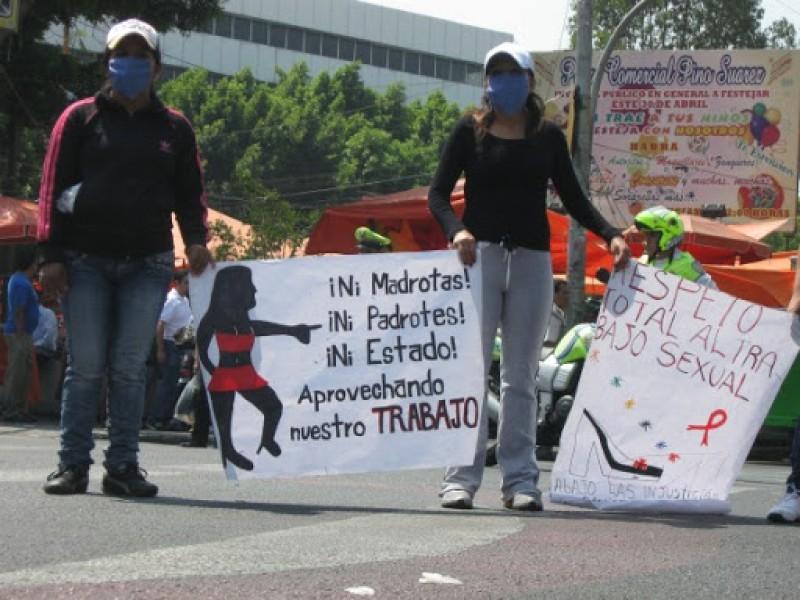 Vulneran derechos de sexoservidoras en Tapachula
