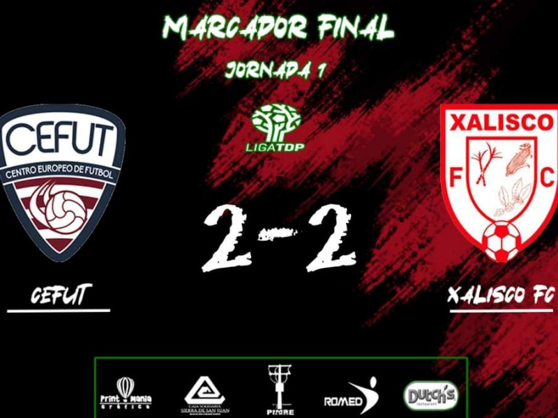 Xalisco FC empató en arranque de la Tercera División Profesional