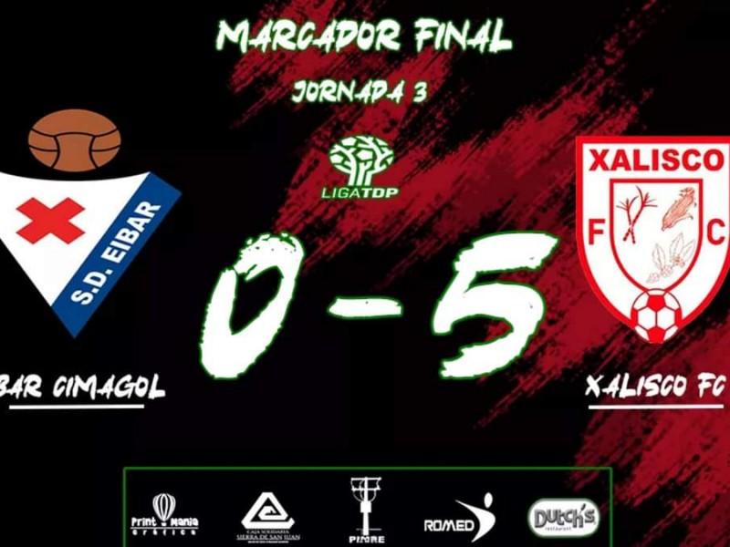 Xalisco FC goleó 5-0 al Eibar Cimagol