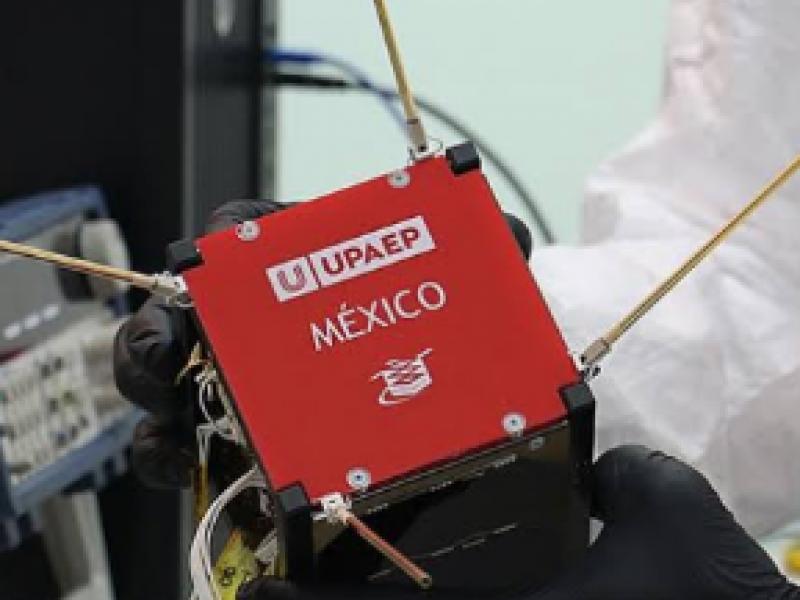 Ya está en órbita el nanosatélite Aztech-Sat 1