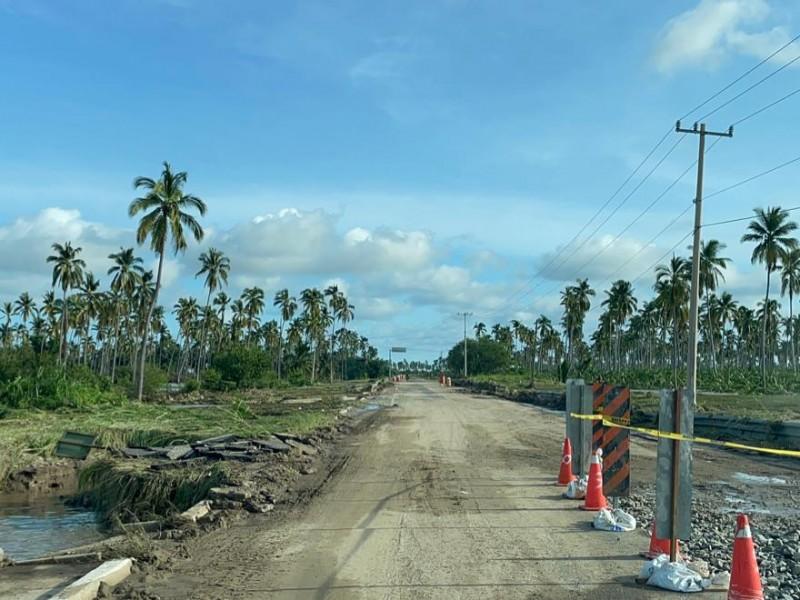 Ya hay paso al Aeropuerto Internacional de Manzanillo; reanuda operaciones