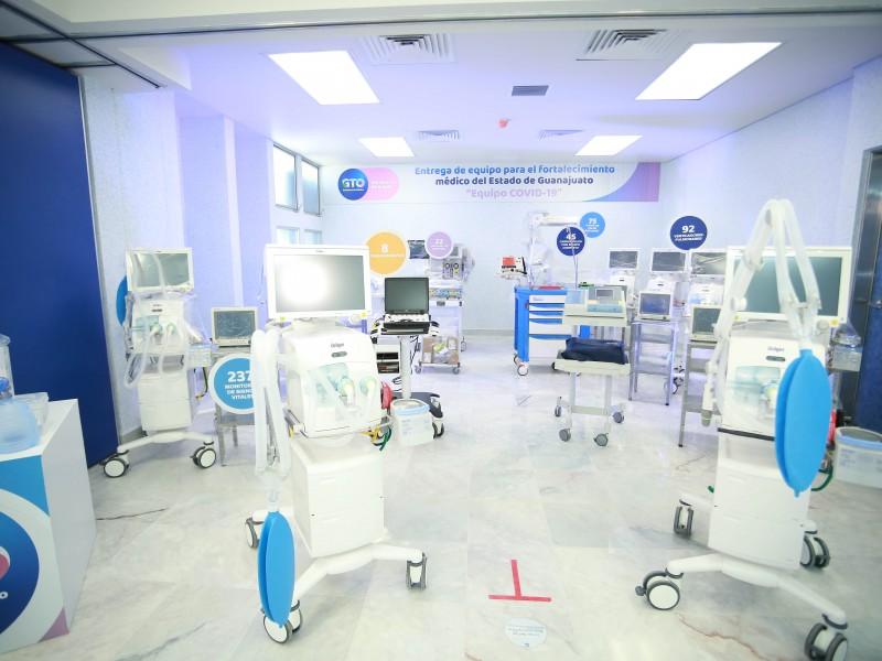 Ya opera hospital especializado para Covid 19