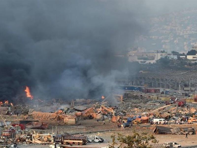 Ya son 181 los muertos por explosión en Beirut