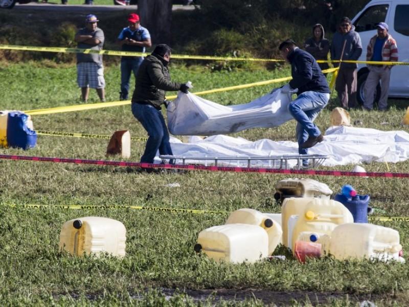 Ya son 85 muertos por explosión en Hidalgo