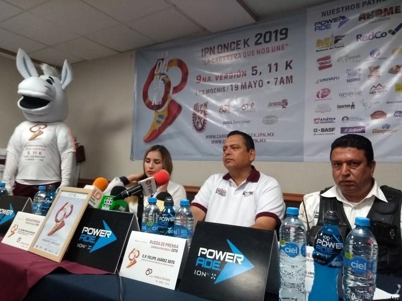 Ya viene la carrera IPN ONCE K 2019