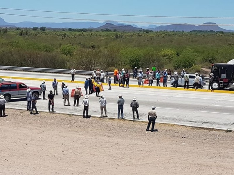 Yaquis levantan bloqueo tren y carretera