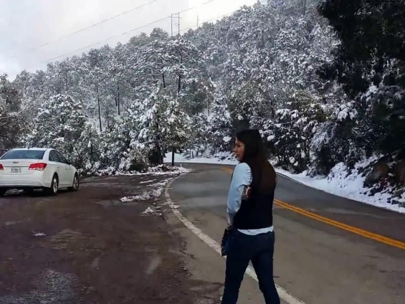 Yécora registra menos 9.5 grados centígrados