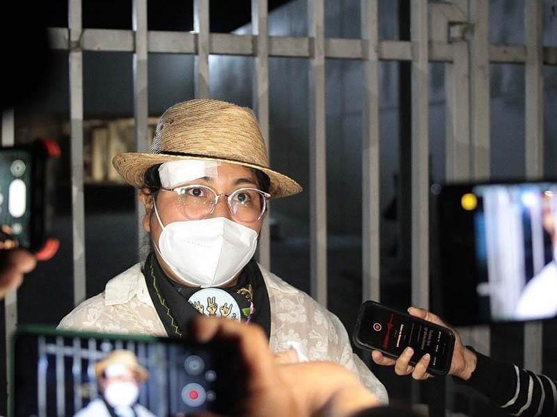 Yolitzin Jaimes interpone denuncia por violencia política en FGR
