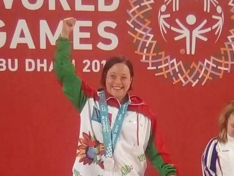 Zacatecana abre medallero mexicano en Olimpiadas Especiales