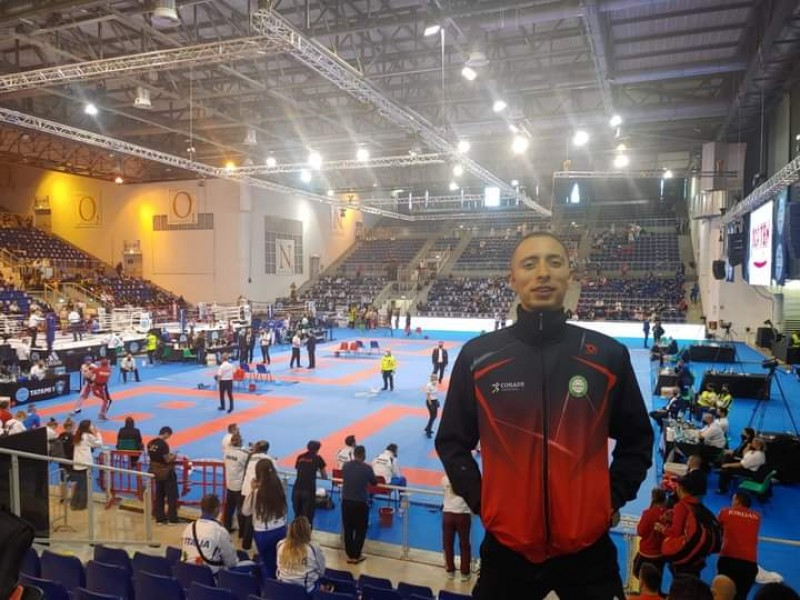 Zacatecano participó en el campeonato mundial de Kickboxing