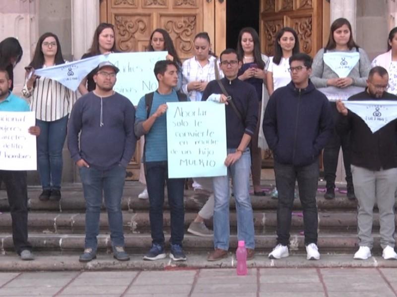 Zacatecanos opinan sobre posible despenalización del aborto