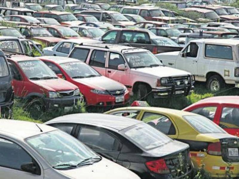 Zacatecas de los de mayor recuperación de vehículos robados