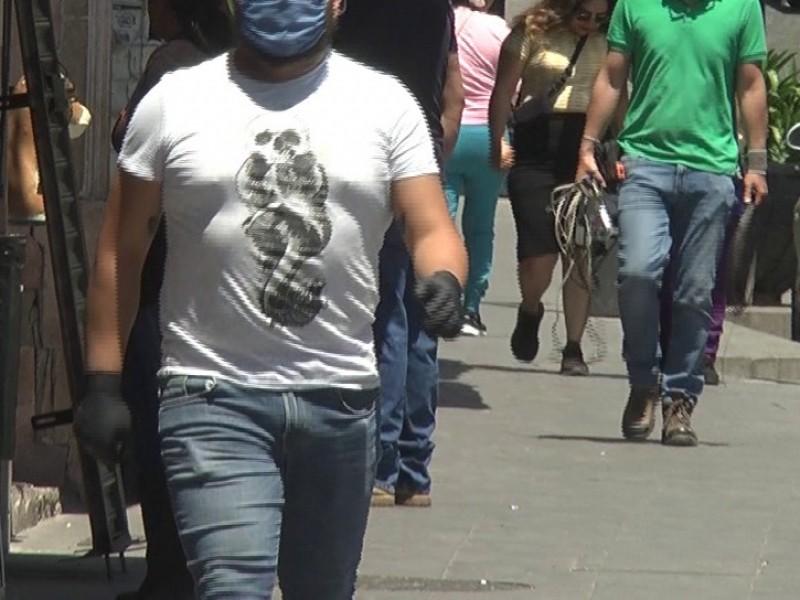 Zacatecas en color rojo, no disminuye la movilidad