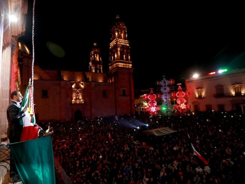 Zacatecas grita ¡Viva México!