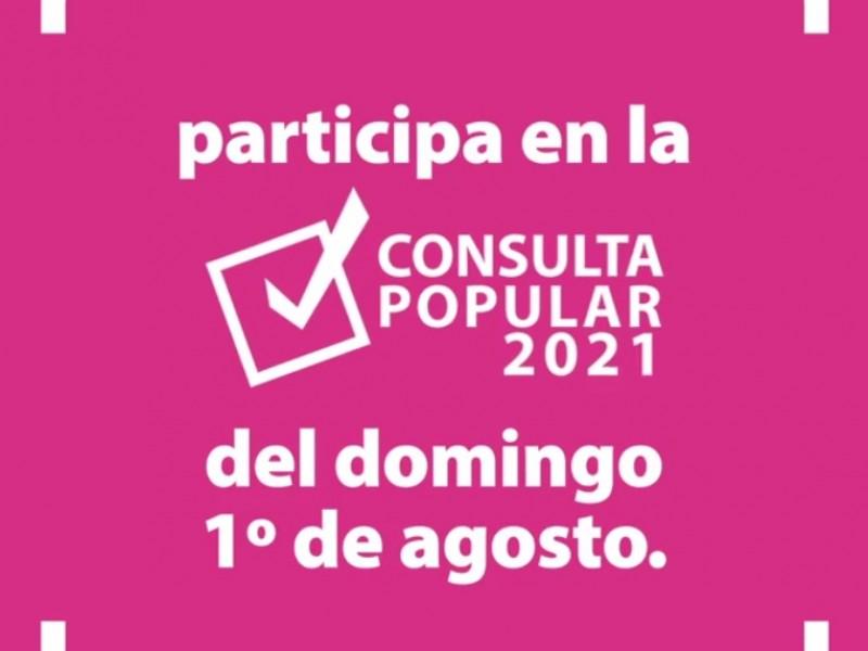 Zacatecas listo para Consulta Popular