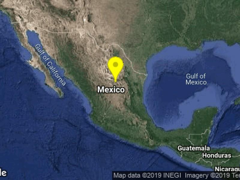 Zacatecas presentó movimientos sísmicos