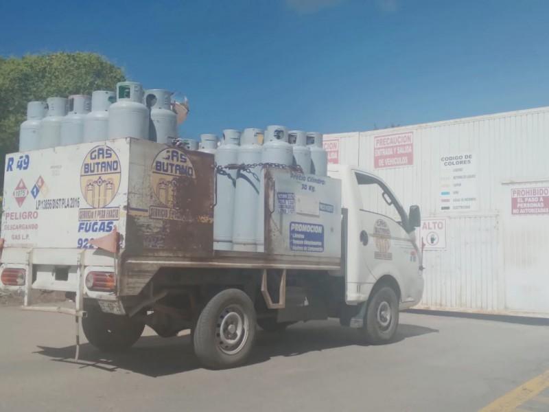 Zacatecas registra el precio más alto en Gas LP