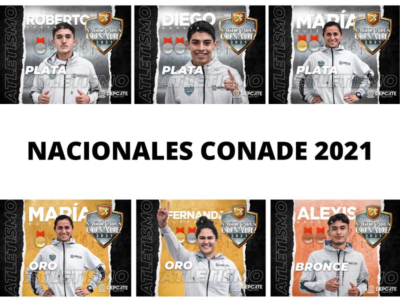 Zacatecas triunfando en los Nacionales CONADE 2021
