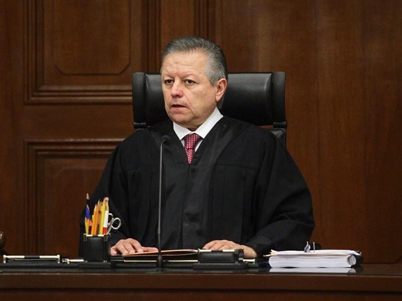 Zaldívar defiende autonomía de jueces